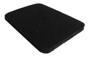 Резино-каучуковые покрытия 8 мм чёрный, фото 2