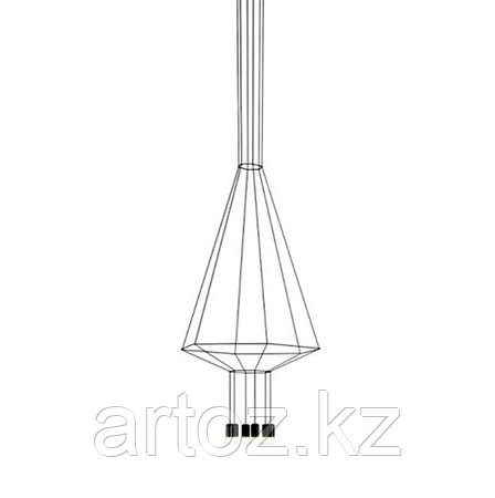 Подвесной светильник Wireflow 0304 Pendant Light, фото 2