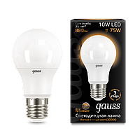 Лампа Gauss LED FILAMENT A60 E27 10W 2700К