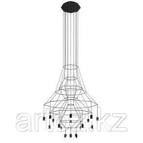 Подвесной светильник Wireflow 0315 Chandelier, фото 2