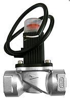 Клапан запорный газовый электромагнитный управляемый имульсный, Dn 15