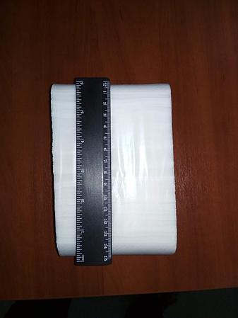 Листовая туалетная бумага сложения Z, фото 2