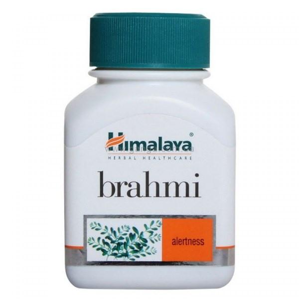 Himalaya Brahmi, Натуральный препарат, для восстановление нервной системы и омоложения, 60 таблеток - фото 1