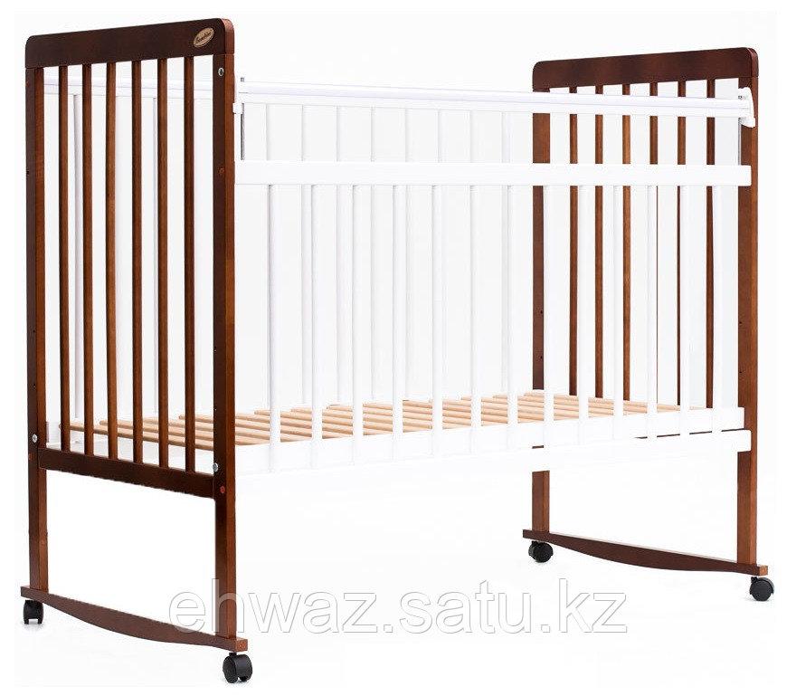 Кровать детская Bambini Евро стиль М 01.10.03 Светлый орех+Белый