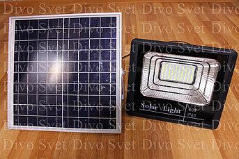 Прожектор на солнечных батареях 60W (2 ВАРИАНТА). Солнечный светодиодный светильник LED 60 Вт.
