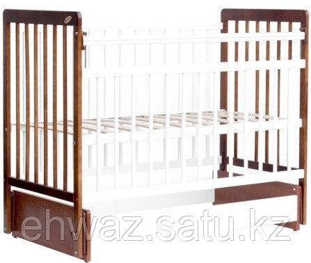 Кровать детская Bambini Евро стиль М 01.10.04 Светлый орех+Белый