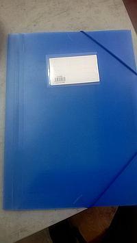 Папка для бумаг с резинками, А4