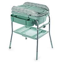 Пеленальный столик с ванночкой Chicco Cuddle & Bubble Светло-зеленый, фото 1