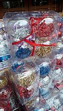 Новогодняя арка, дед мороз, снеговик, елки, новогодние игрушки, новогодние подарки, фото 3