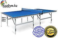 Теннисный стол Start Line Training Optima, 22 мм, без сетки, на роликах, складные регулируемые опоры, фото 1