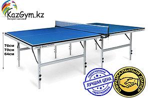 Теннисный стол Start Line Training Optima, 22 мм, без сетки, на роликах, складные регулируемые опоры