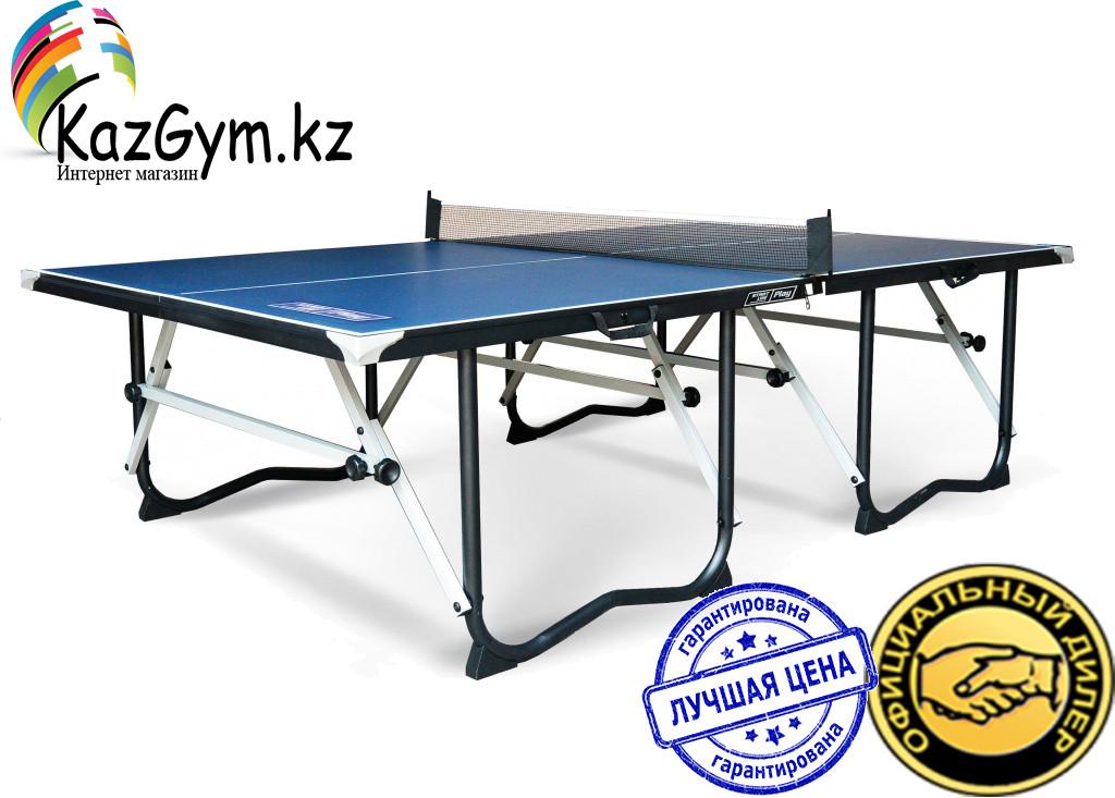 Теннисный стол Play крашеный МДФ 15 мм, сетка, держатель