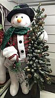 Снеговик с елкой, фото 1