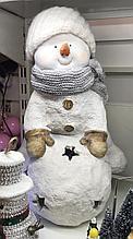 Снеговик со снежным комом