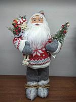"Премиум новогодняя фигура ""Санта клаус"" 33 см, фото 1"