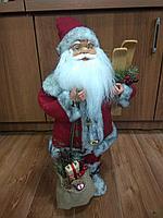 """Премиум новогодняя фигура """"Дед мороз"""" 45 см"""