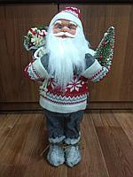"""Премиум новогодняя игрушка """"Дед мороз"""" 45 см, фото 1"""