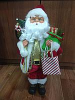 """Премиум новогодняя игрушка """"Дед мороз"""" 45 см"""