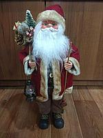 """Премиум новогодняя фигура """"Санта Клаус"""" 45 см"""