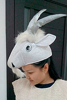 Карнавальная шапка маска Овца.