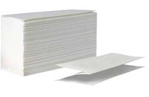 Бумажное полотенце листовое сложения Z