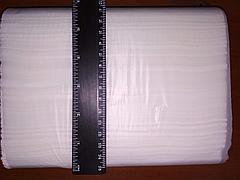 Бумажное полотенце листовое сложения Z, фото 2