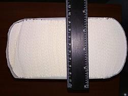 Бумажное полотенце листовое сложения Z, фото 3