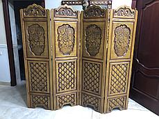 Ширма деревянная ручной работы