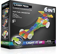Laser Pegs ГОНОЧНАЯ МАШИНА 6 в 1, фото 1