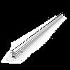Светильник GAUSS Fito LED TL линейный прозрачный 15W 3000K 1172мм (Full spectrum) 1/25
