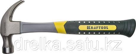 Молоток-гвоздодер 450 г с фиберглассовой рукояткой, KRAFTOOL 20280-450, фото 2