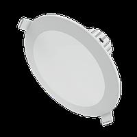 Светильник Gauss Кругл. Белый, 11W, 880 Lm LED 2700K 1/20