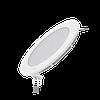 Светодиодный встраиваемый светильник Gauss ультратонкий круглый IP20 9W 2700K 1/20