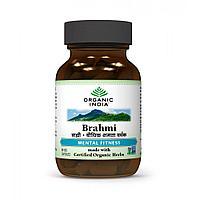 Brahmi Organic India для улучшения памяти, 60 капсул, фото 1