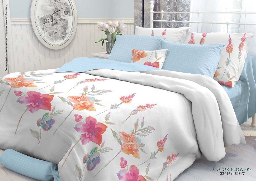 """Комплект постельного белья """"Color flowers"""""""