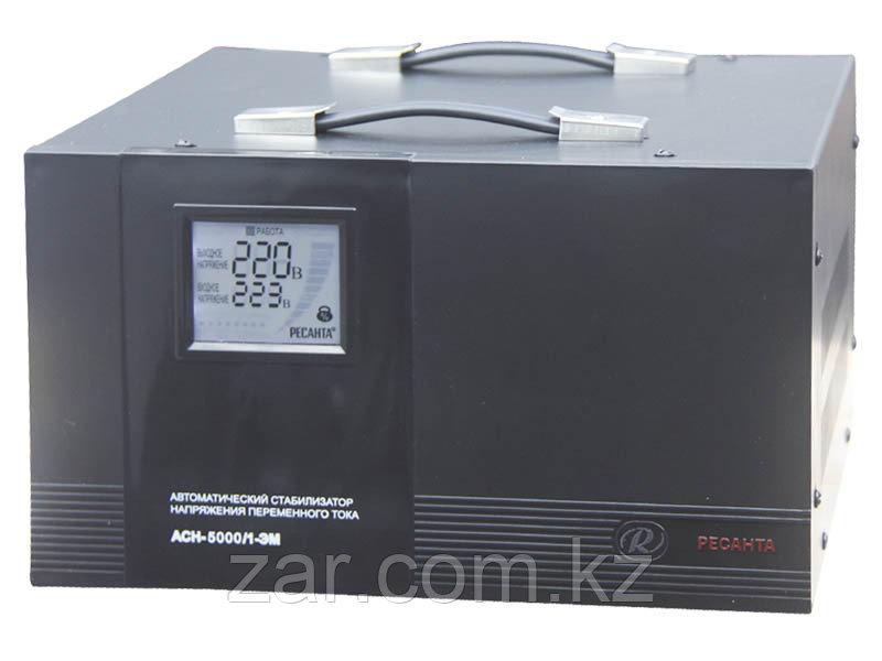 Ресанта АСН-5000/1-ЭМ Стабилизатор однофазный электромеханический