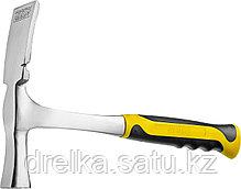 Молоток-кирочка КАМЕНЩИКА STRIKE 600г цельнометаллический, STAYER Professional , фото 2