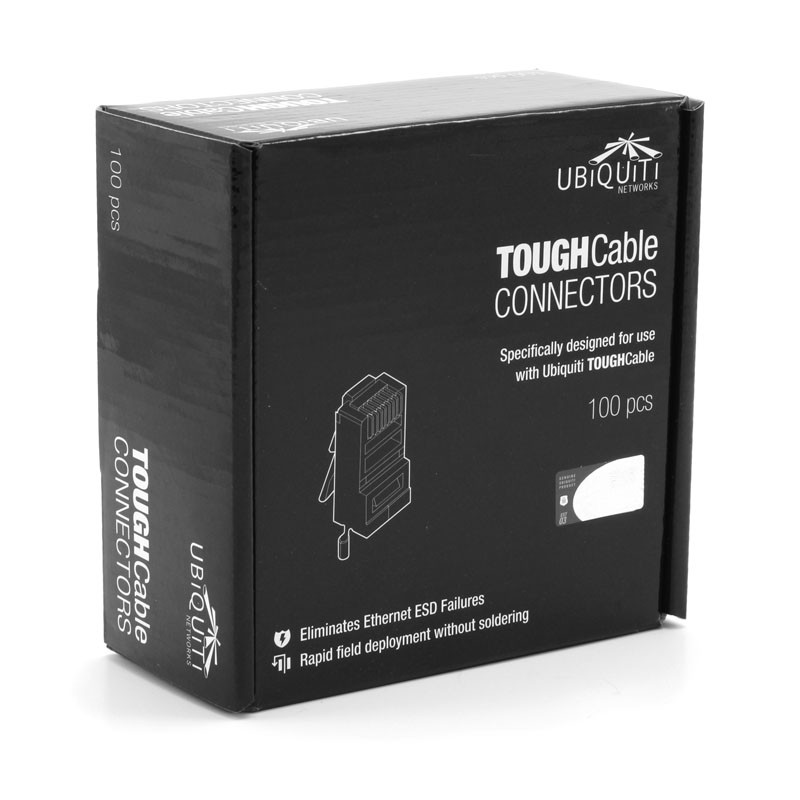 Коннектор RJ45 Ubiquiti ToughCable 100 шт