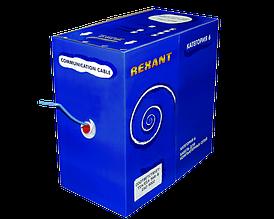 Кабель Rexant UTP 4PR 23AWG CAT6 305м