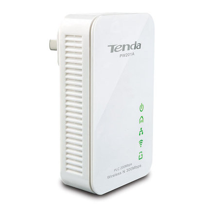 Powerline Wi-Fi точка доступа Tenda PW201A, фото 2