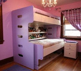 двухъярусная кровать - трансформер -1