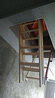 Лестница чердачная. Чердачная лестница.