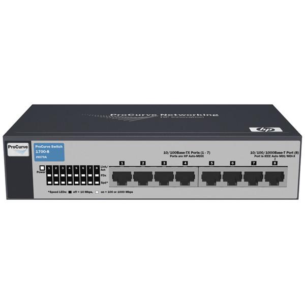 Коммутатор HP 1700-8