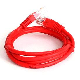 Патч-кабель EuroLan UTP Cat5e 1м красный