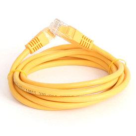 Патч-кабель EuroLan UTP Cat5e 3м желтый