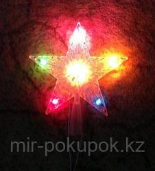 """Гирлянда - верхушка """"Звезда"""" на елку, Алматы"""