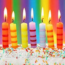 Свечи в торт для дня рождения