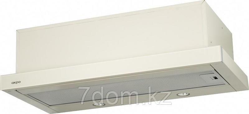 Вытяжка akpo LIGHT eco glass 60 бежевое стеклоWK-7