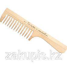 Расчёска деревянная с крупными зубцами