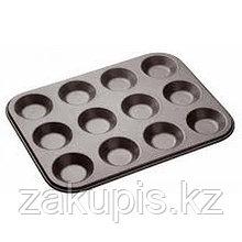 Металлическая форма для выпечки кексов и маффинов